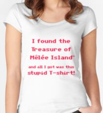 The Treasure of Melee Island Women's Fitted Scoop T-Shirt