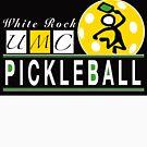 White Rock UMC Pickleball Logo by kcd-designs