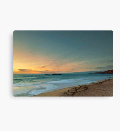 Sandwood Bay at Sunset Canvas Print