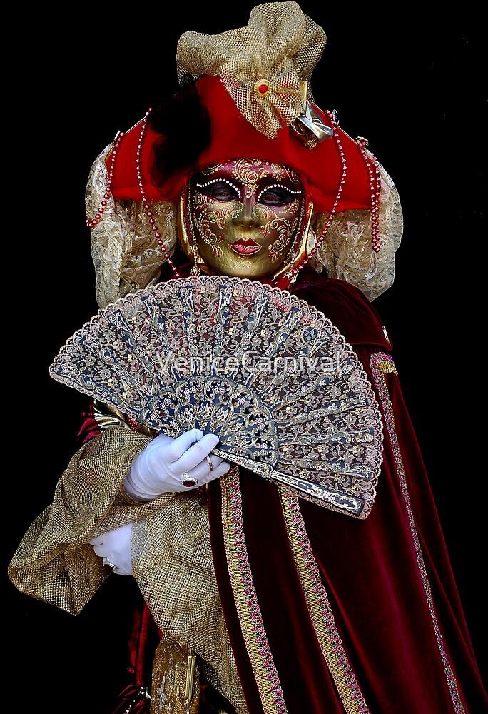 Lady with Fan by VeniceCarnival