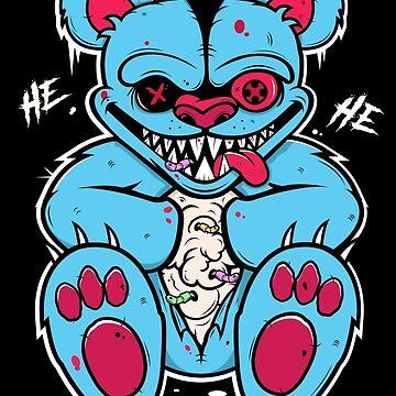 Demonic Teddy  by MegLoBz