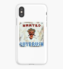 Wanted Guybrush iPhone Case/Skin