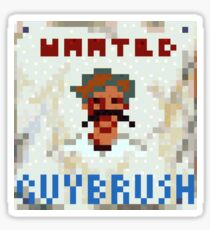Wanted Guybrush Threepwood - Monkey Island Sticker
