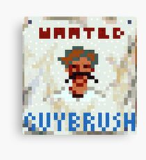 Wanted Guybrush Canvas Print