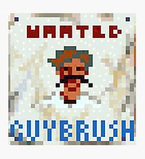 Wanted Guybrush Photographic Print