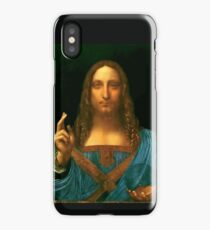 "Leonardo da Vinci ""Salvator Mundi"" iPhone Case"