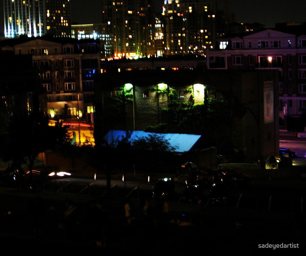 Night Color (Federal Hill) by sadeyedartist
