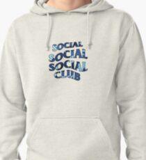 SOCIAL SOCIAL SOCIAL CLUB - Blue Camo Pullover Hoodie