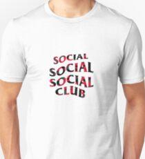 SOCIAL SOCIAL SOCIAL CLUB - Red Camo Unisex T-Shirt