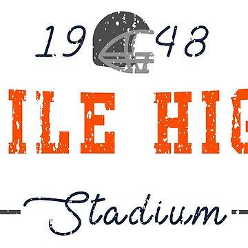 Mile High Stadium by HomePlateCreate