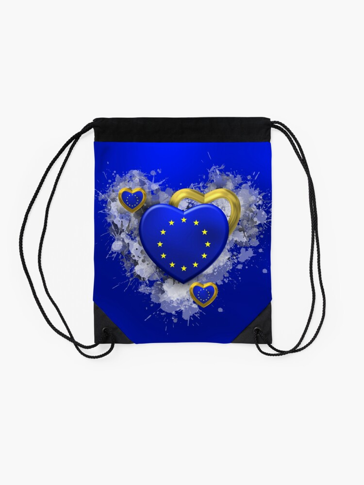 Alternate view of Europe Drawstring Bag