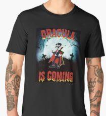 Dracula is Coming  Men's Premium T-Shirt