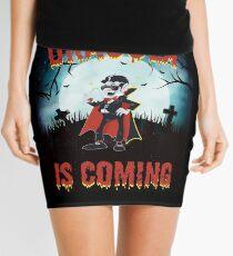 Dracula is Coming  Mini Skirt