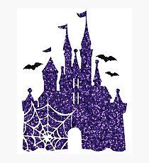 Halloween Castle Photographic Print