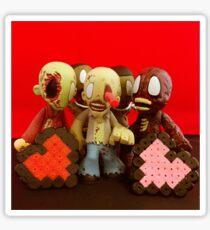 Zombie Valentines Sticker