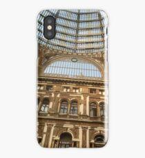 Galleria Umberto I in Naples iPhone Case