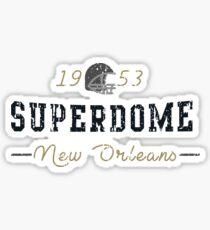 Superdome Sticker