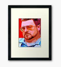 Walter Sobchak - John Goodman  Framed Print
