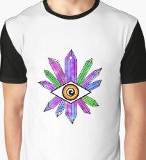 Crystal Meditation Graphic T-Shirt