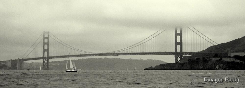 The Golden Gate Bridge by Dwayne Purdy