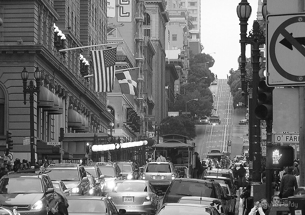 The Streets of San Francisco by Dwayne Purdy