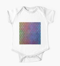 Colorful Gold Mermaid Scales Kids Clothes