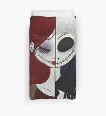 Jack & Sally Duvet Cover