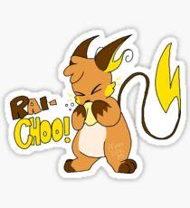 Rai-CHOO! Sticker