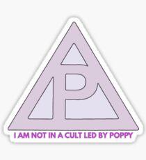 POPPY MEMBERSHIP SHIRT/DESIGN Sticker
