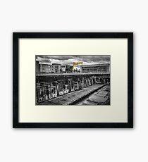 Titanic Dock Framed Print