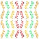 COlorful Leaves pattern by ikshvaku