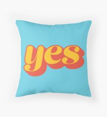 Affirmative Throw Pillow