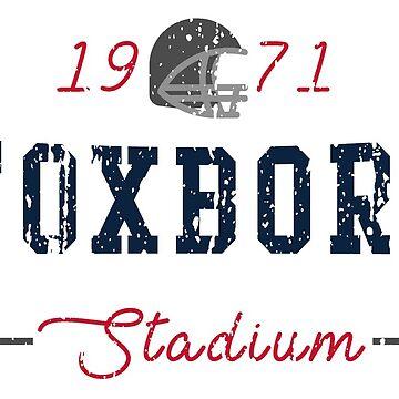 Foxboro Stadium by HomePlateCreate