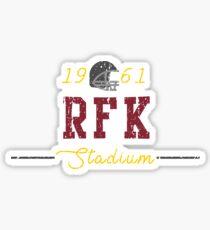 RFK Stadium Sticker
