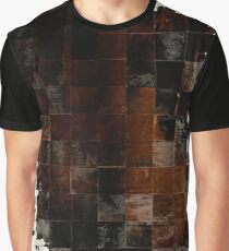 Cowhide Patchwork | Texture  Graphic T-Shirt