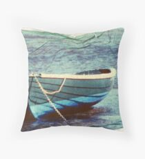 this boat has lift off Throw Pillow