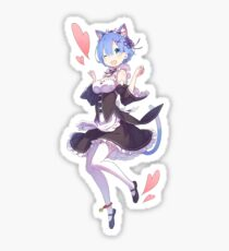 Re:Zero - Neko Rem Sticker