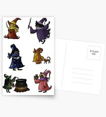 Small Collection of Small Witches Postcards