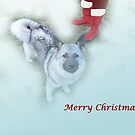 Santa's Elkhound by CreativeEm