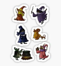 Small Collection of Small Witches Sticker