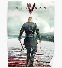 Ragnar Lothbrok Vikings Poster