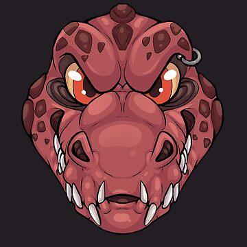 Tooth Boi - Ferrous Reds by Polefox