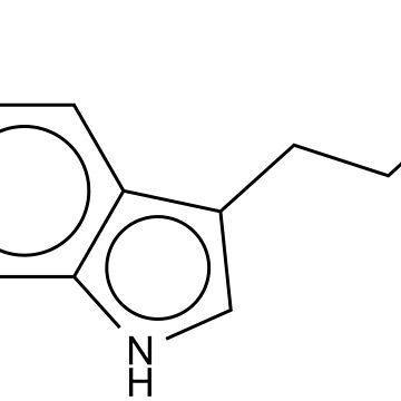 Serotonin chemical molecule by Girih