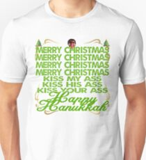 Kiss My Christmas T-Shirt