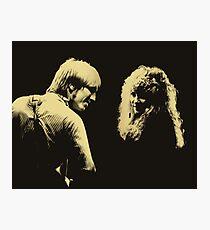 Tom Petty and Stevie Nicks Photographic Print