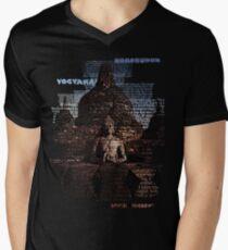 Borobudur Men's V-Neck T-Shirt