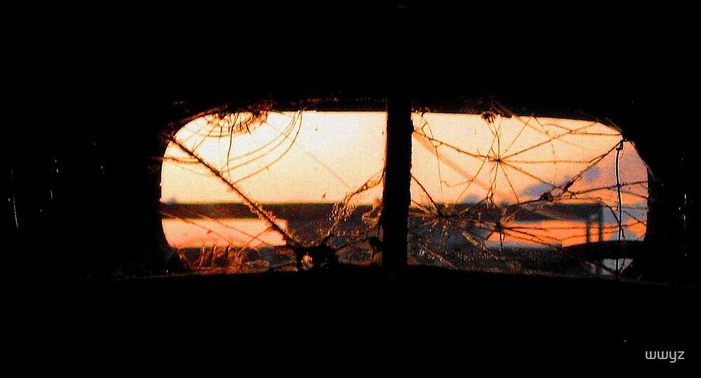 Broken Sunset by wwyz