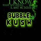 I Know what you smoke last summer Parody T-Shirt by hip-hop-art