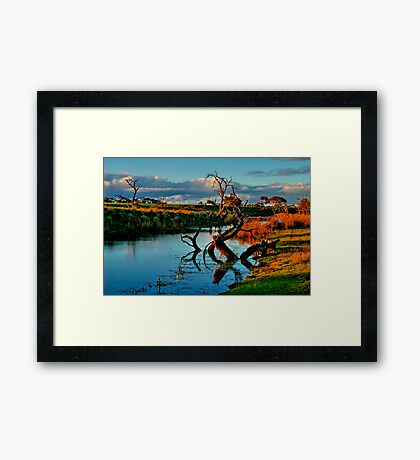 """Evening Mirror"" Framed Print"
