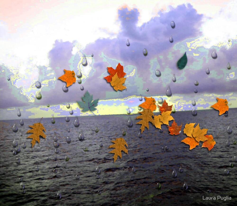 Rain Abstract by Laura Puglia